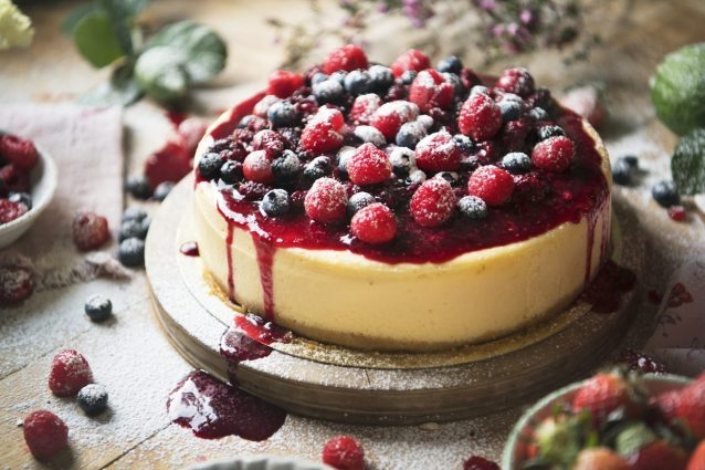cheesecake alle more ricetta