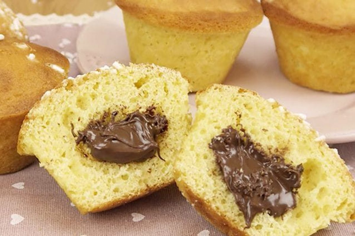 Ricetta Muffin X 6.Muffin Alla Nutella La Ricetta Per Farli Morbidi E Golosi