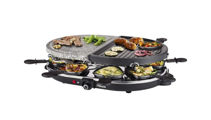 raclette grill Princess Oval Stone e Grill Party