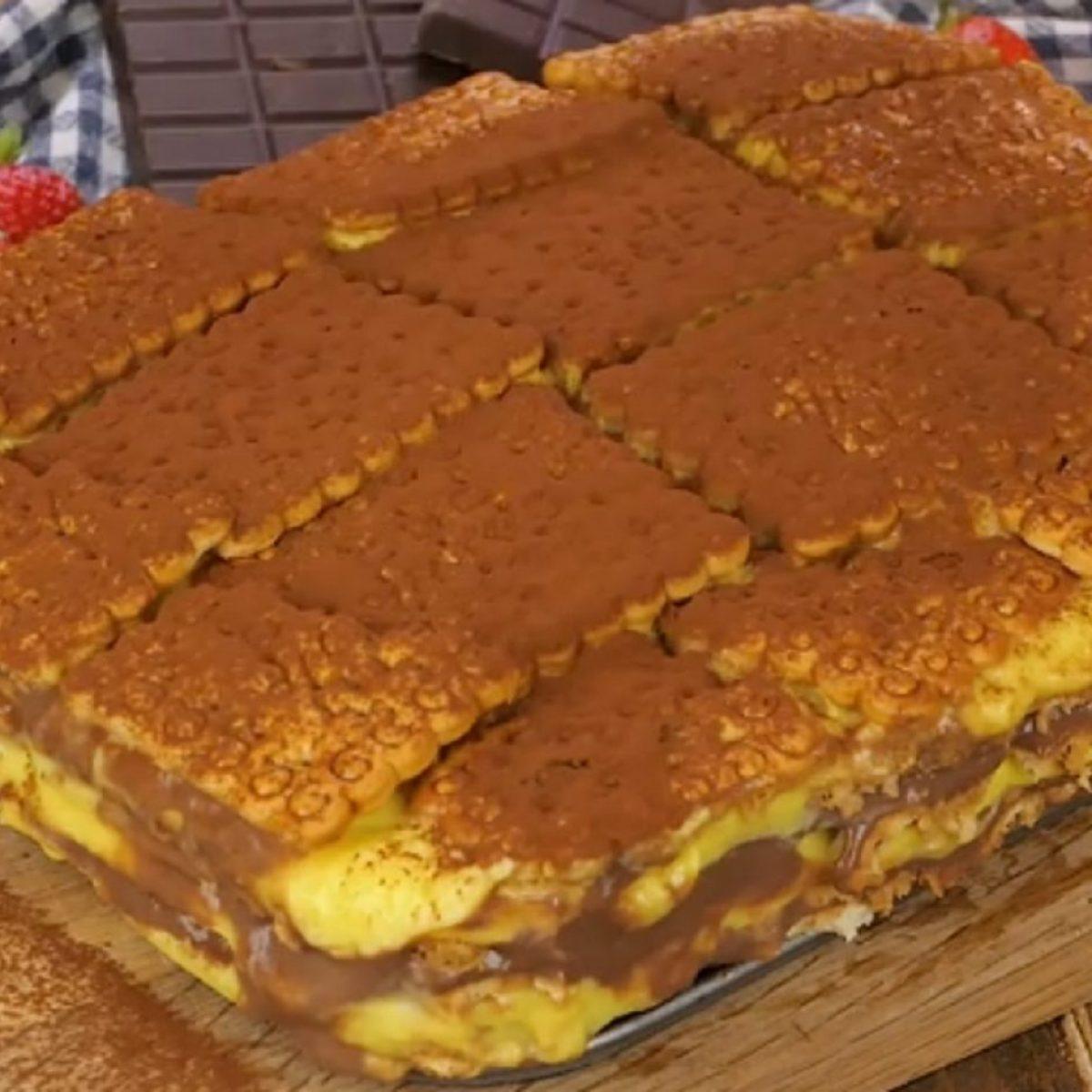 Ricetta Zuppa Inglese Fatto In Casa Da Benedetta.Zuppa Inglese Con I Biscotti La Ricetta Con Budino E Biscotti Secchi