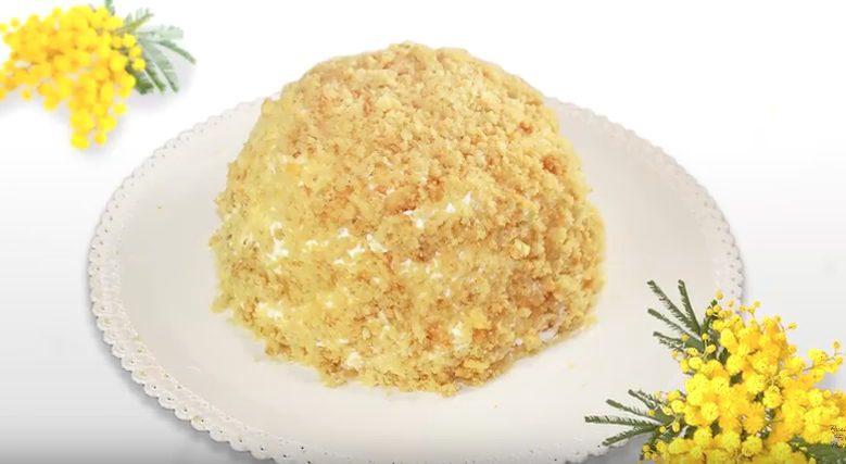 Torta mimosa: la ricetta classica per la Festa della donna
