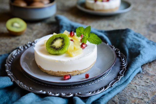 cheesecake ai kiwi ricette