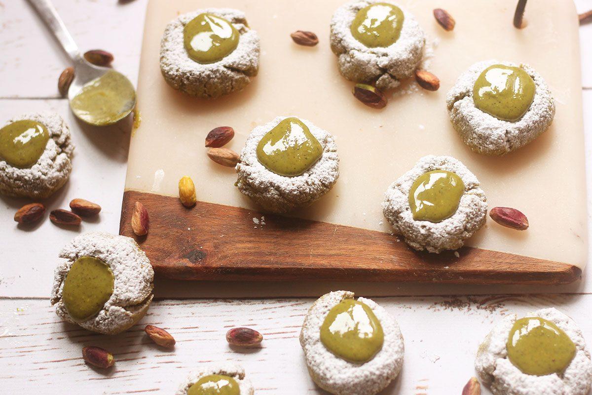 Pistacchiotti: la ricetta dei biscotti con crema di pistacchio