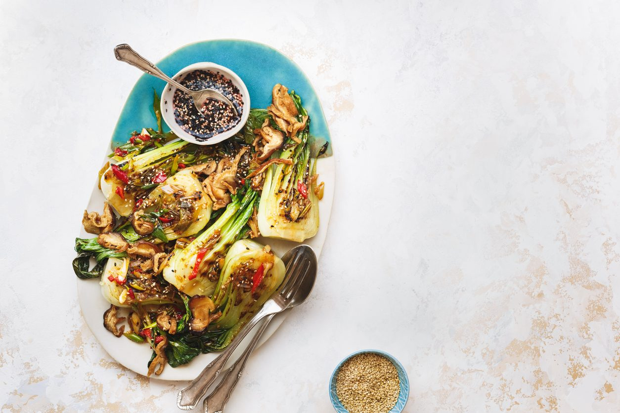 Cavolo cinese al forno: la ricetta del pak choi gratinato