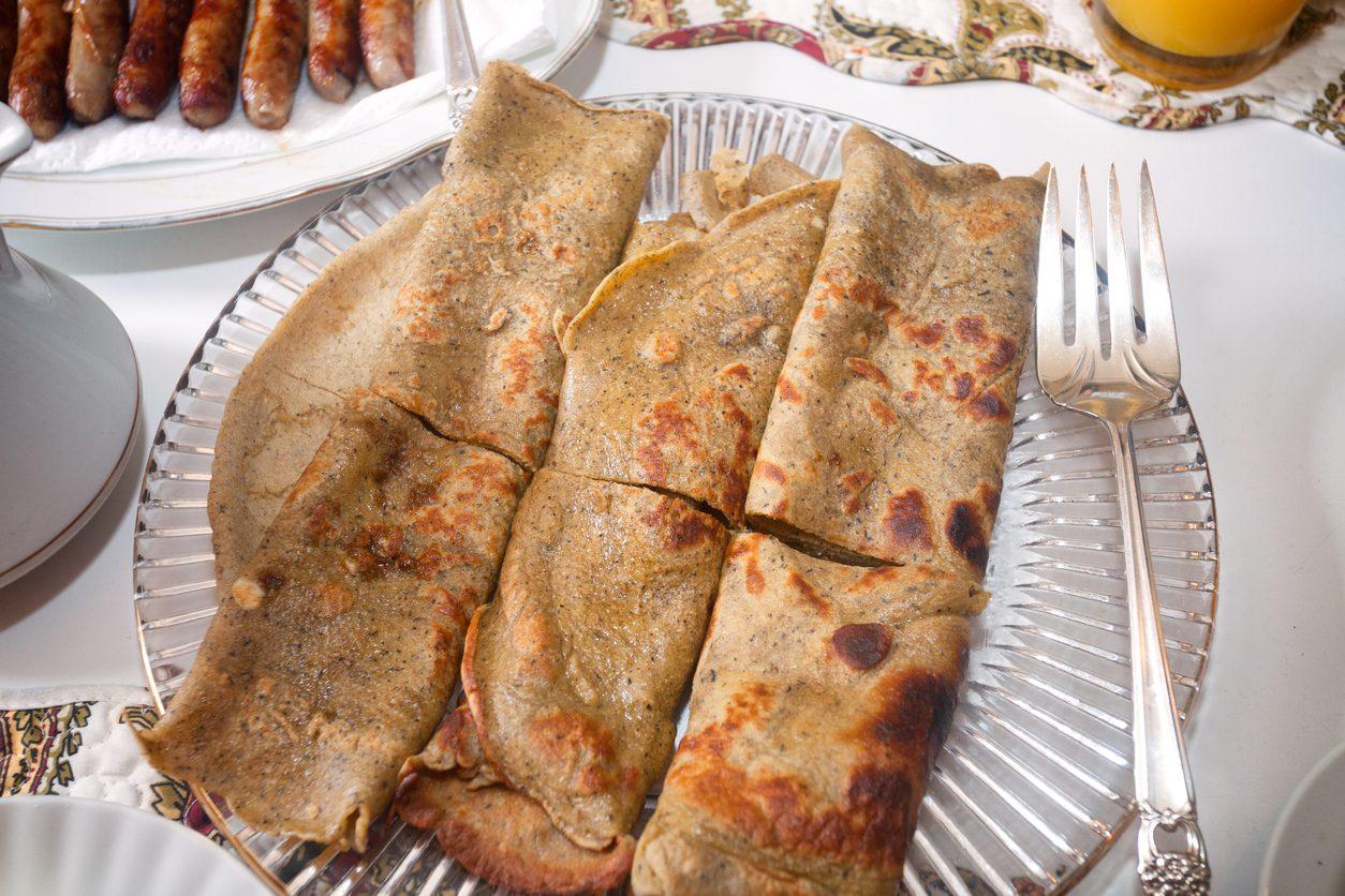 Crepes di grano saraceno: la ricetta delle galletes tipiche della Bretagna