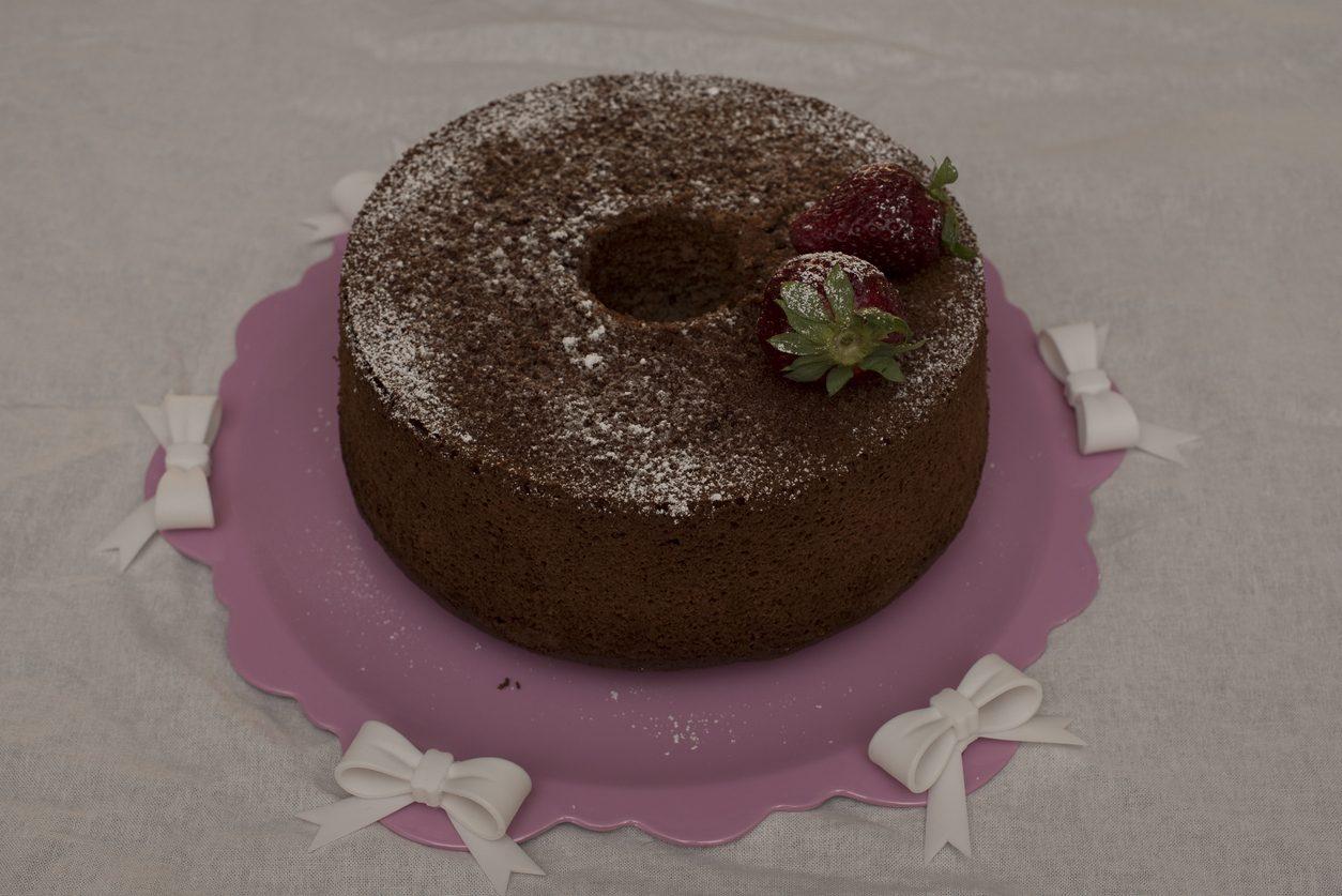 Chiffon cake al cacao: la ricetta del dolce morbido