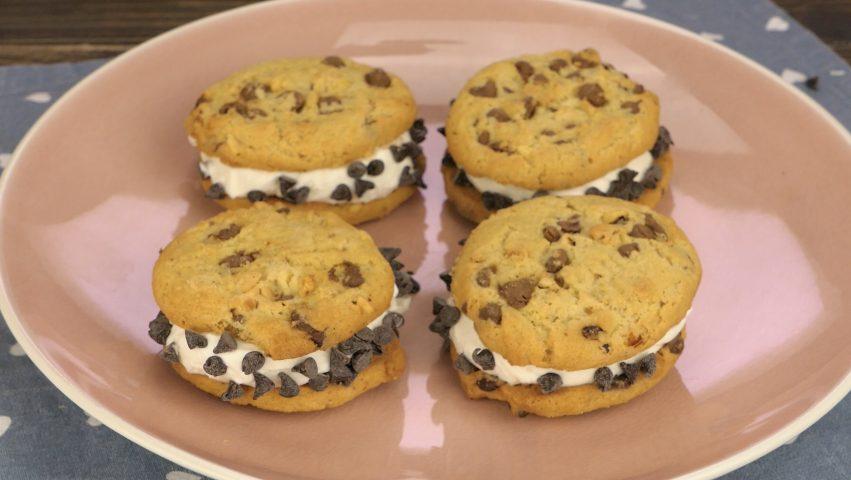 Cookie gelato: la ricetta dello snack veloce e goloso