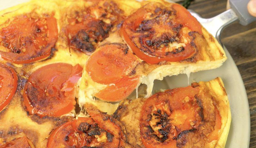 Frittata di pomodori e basilico: la ricetta del secondo piatto semplice e sfizioso