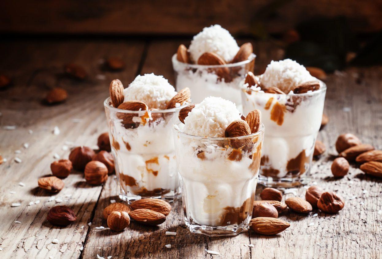Gelato alle mandorle: la ricetta semplice per prepararlo senza gelatiera