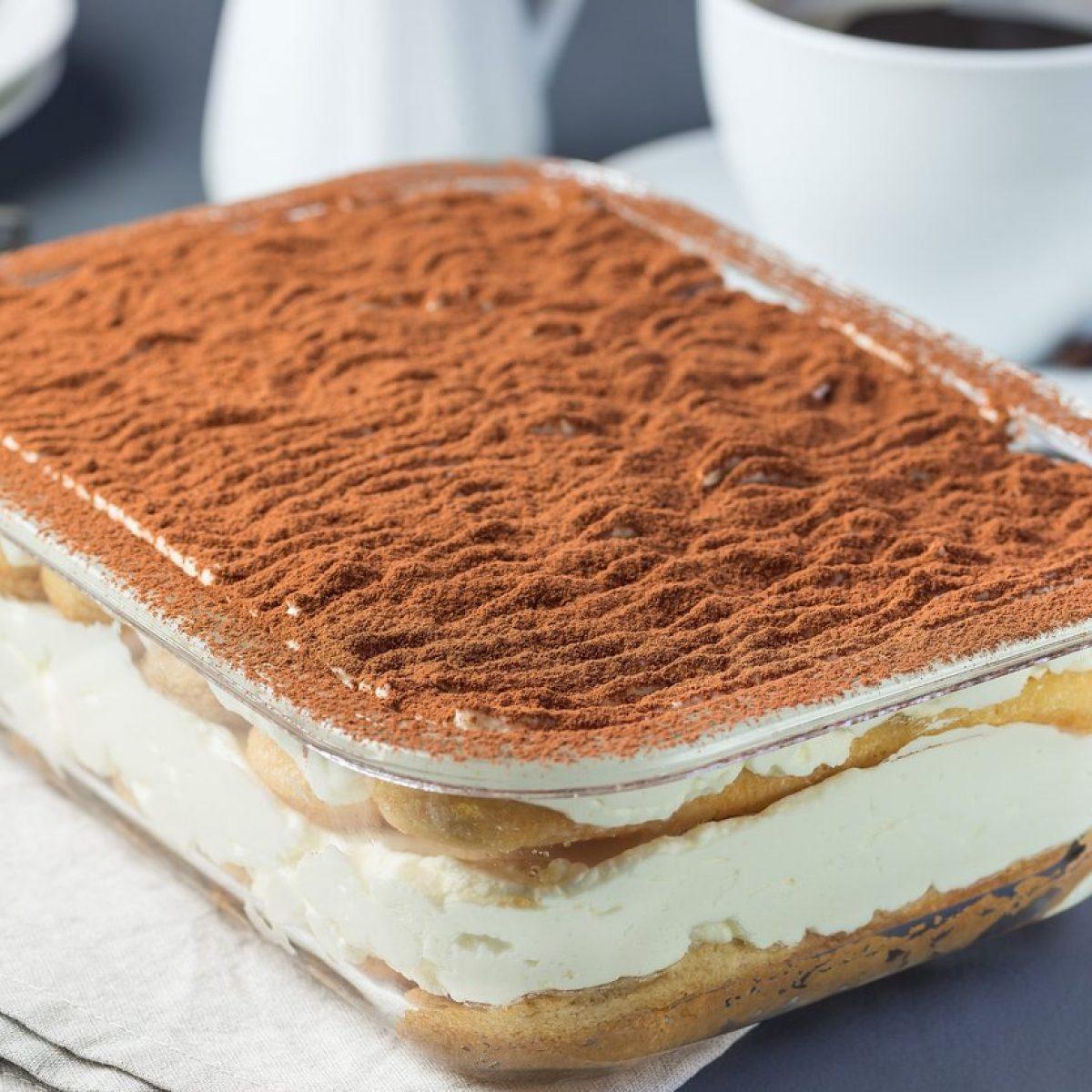 Ricetta Tiramisu Al Caffe E Panna.Tiramisu Per Bambini La Ricetta Del Dolce Veloce Senza Caffe