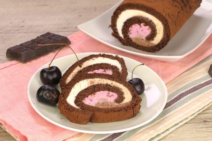 Torta rotolo gelato: la ricetta del dessert perfetto per l'estate