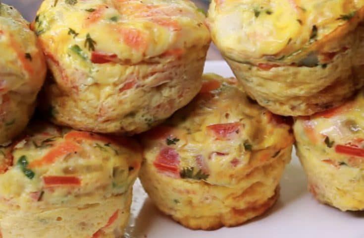 Omelette muffin: la ricetta delle frittatine monoporzione semplici e sfiziose