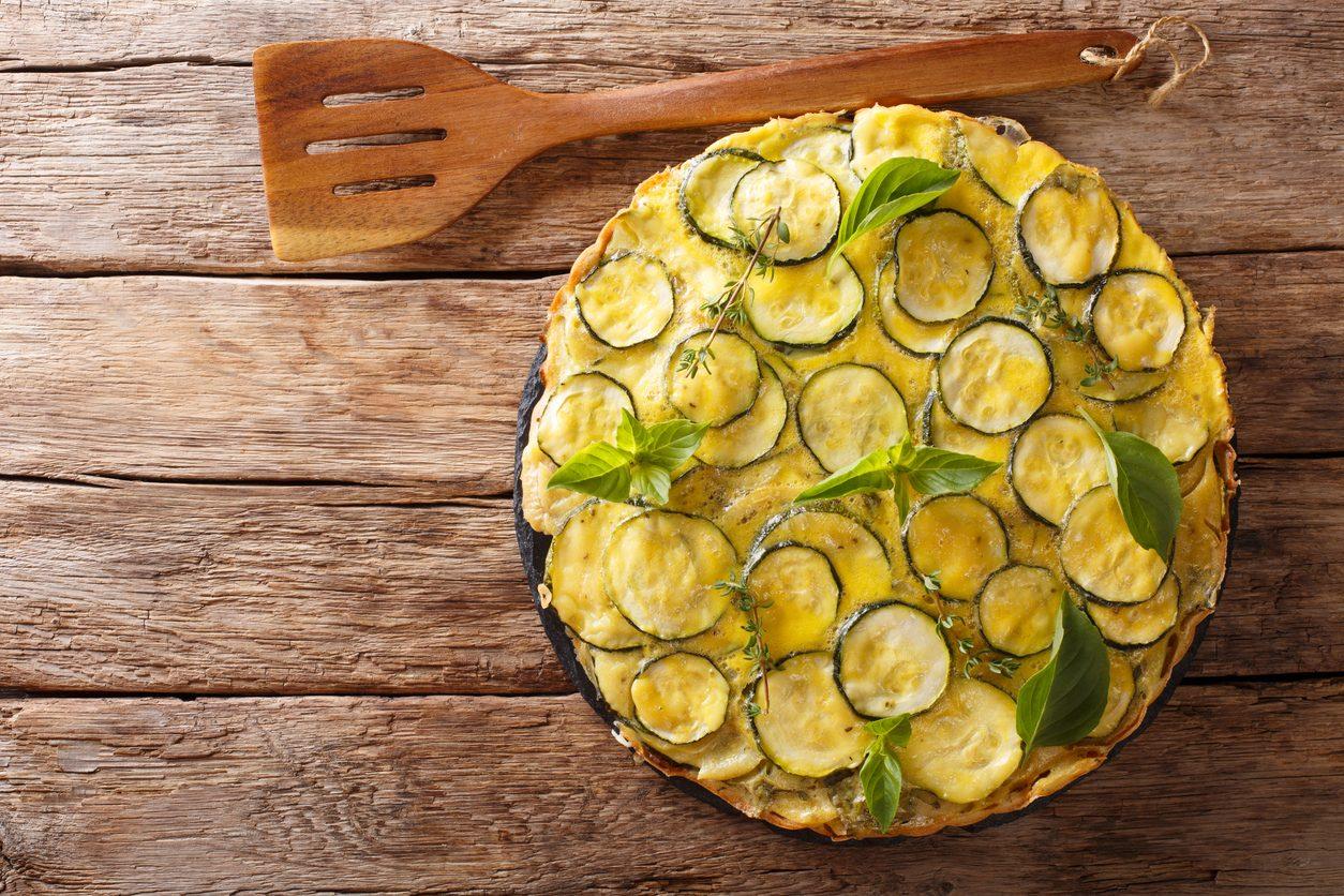 Scarpaccia di zucchine: la ricetta della torta salata toscana