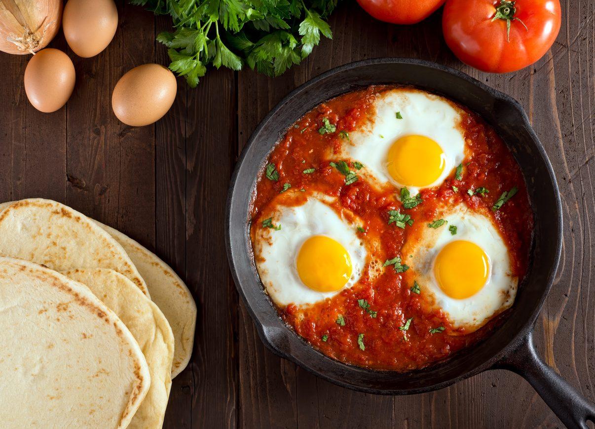 secondi piatti con le uova
