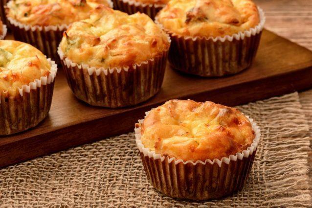 Brunch, ricette facili e veloci: i muffin al formaggio