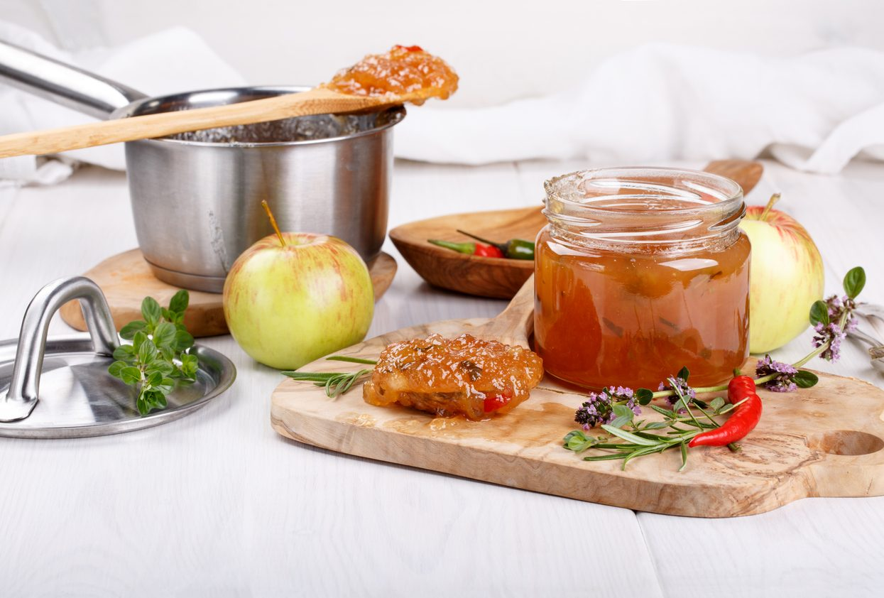 Chutney di mele: la ricetta della salsa agrodolce per accompagnare i vostri piatti
