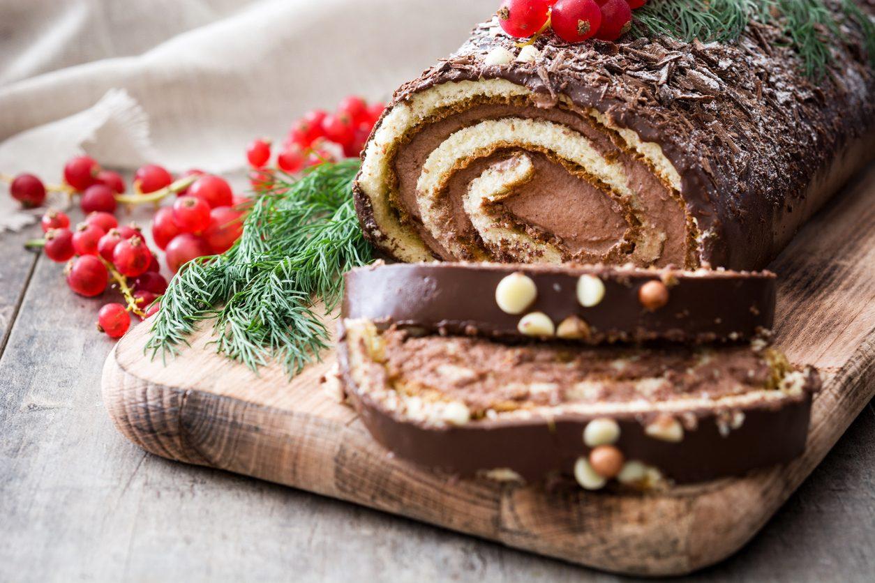 dolci di natale della tradizione, il tronchetto piemontese