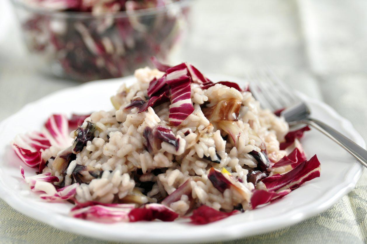 Risotto alla trevisana: la ricetta del primo piatto saporito e raffinato