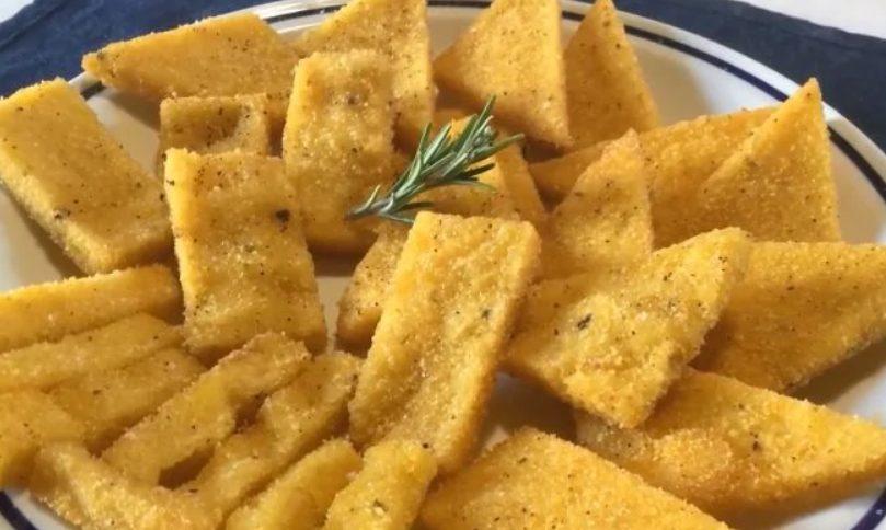 Scagliozzi: la ricetta della polenta fritta tipica dello street food napoletano