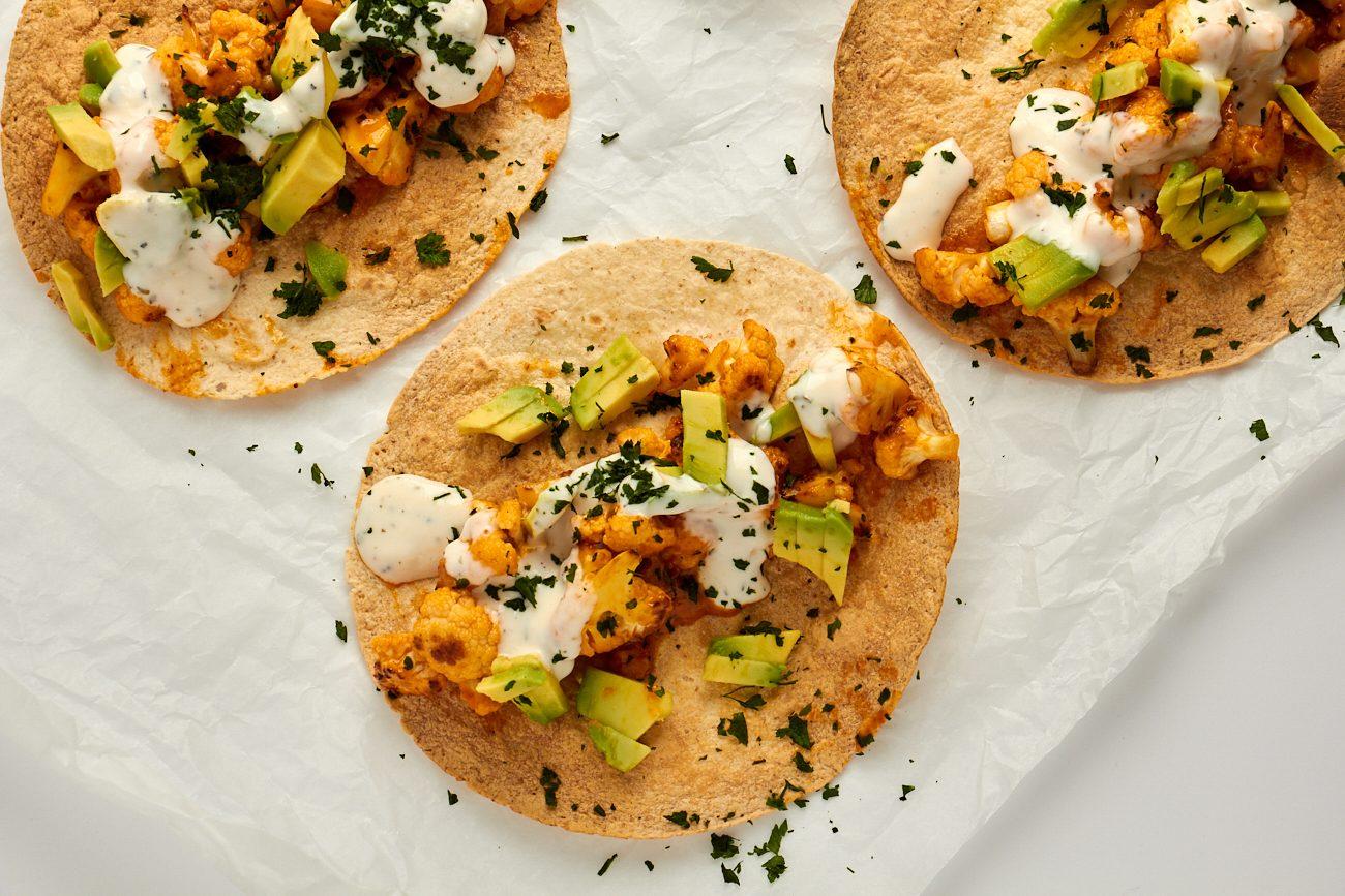 Tacos di cavolfiore: la ricetta del secondo vegetariano sfizioso