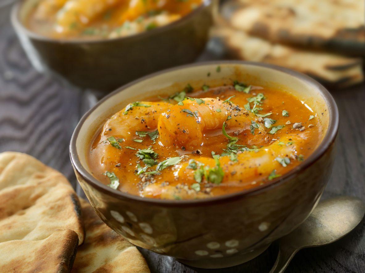 idee per le zuppe: la zuppa di gamberi