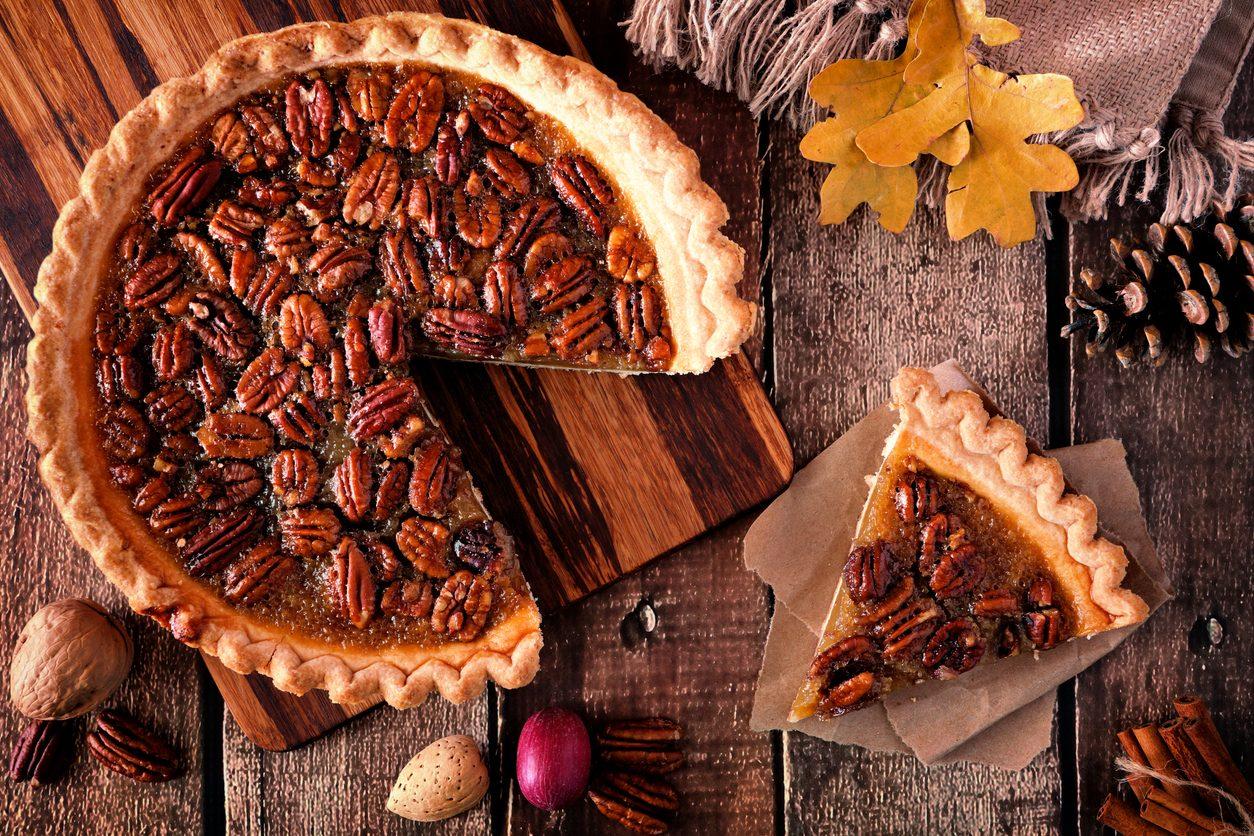 Giorno del Ringraziamento, i piatti più celebri: pecan pie