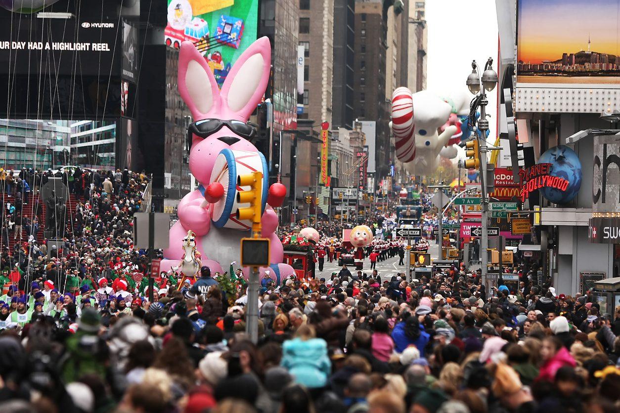 Giorno del Ringraziamento, la parata di New York