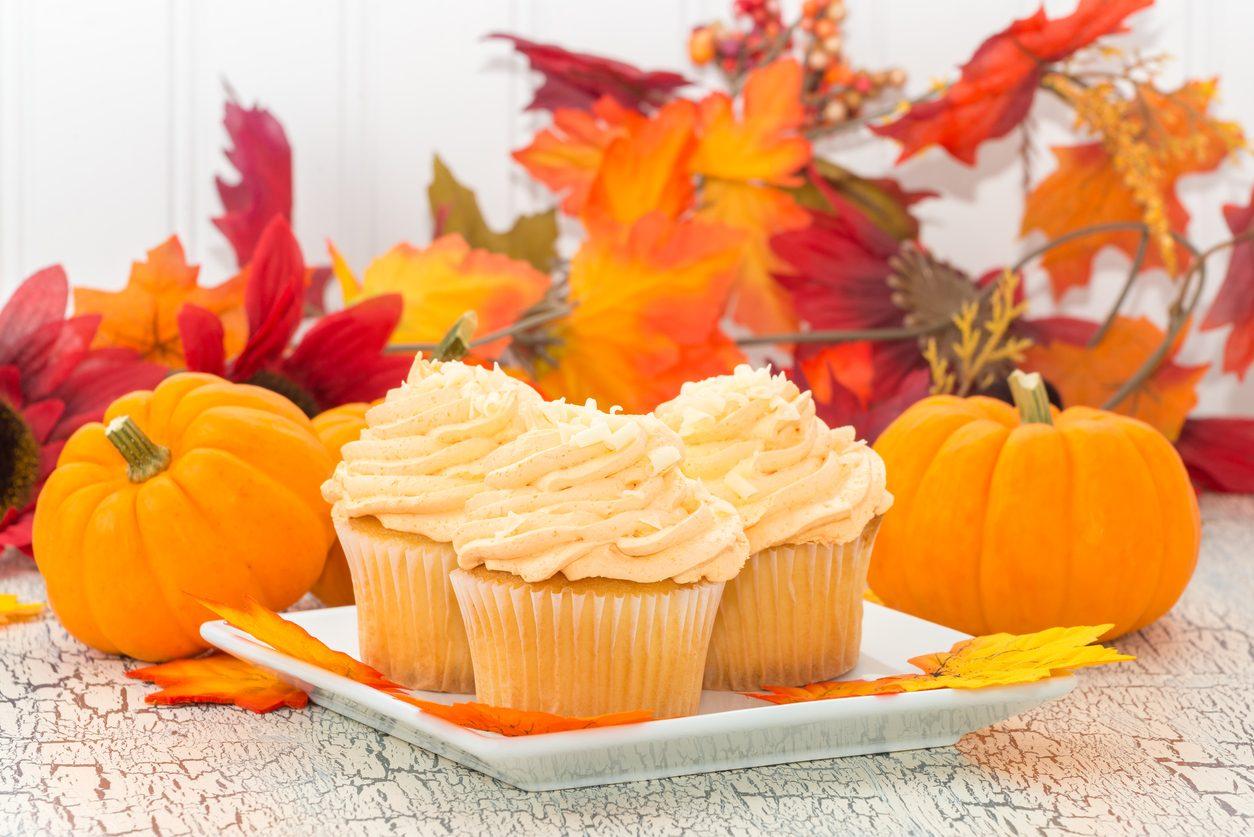 Cupcake alla zucca: la ricetta dei dolcetti autunnali soffici e golosi
