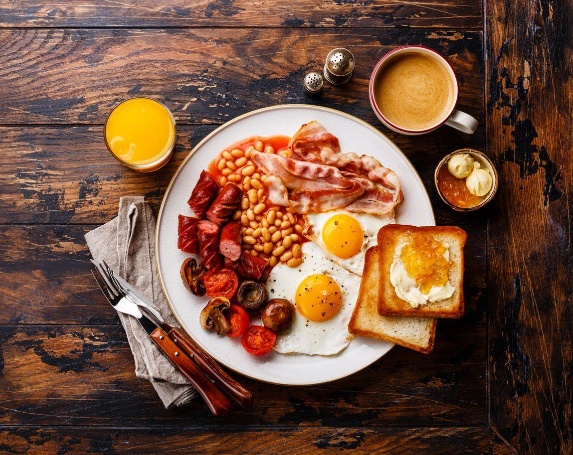 Pitti tipici inglesi, l'english breakfast