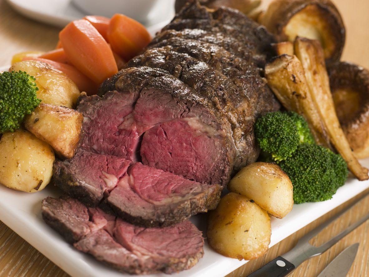 Piatti tipici inglesi: sunday roast