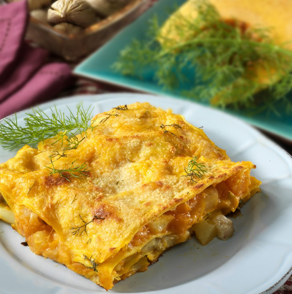 Primi piatti di Natale facili e veloci: lasagna vegan