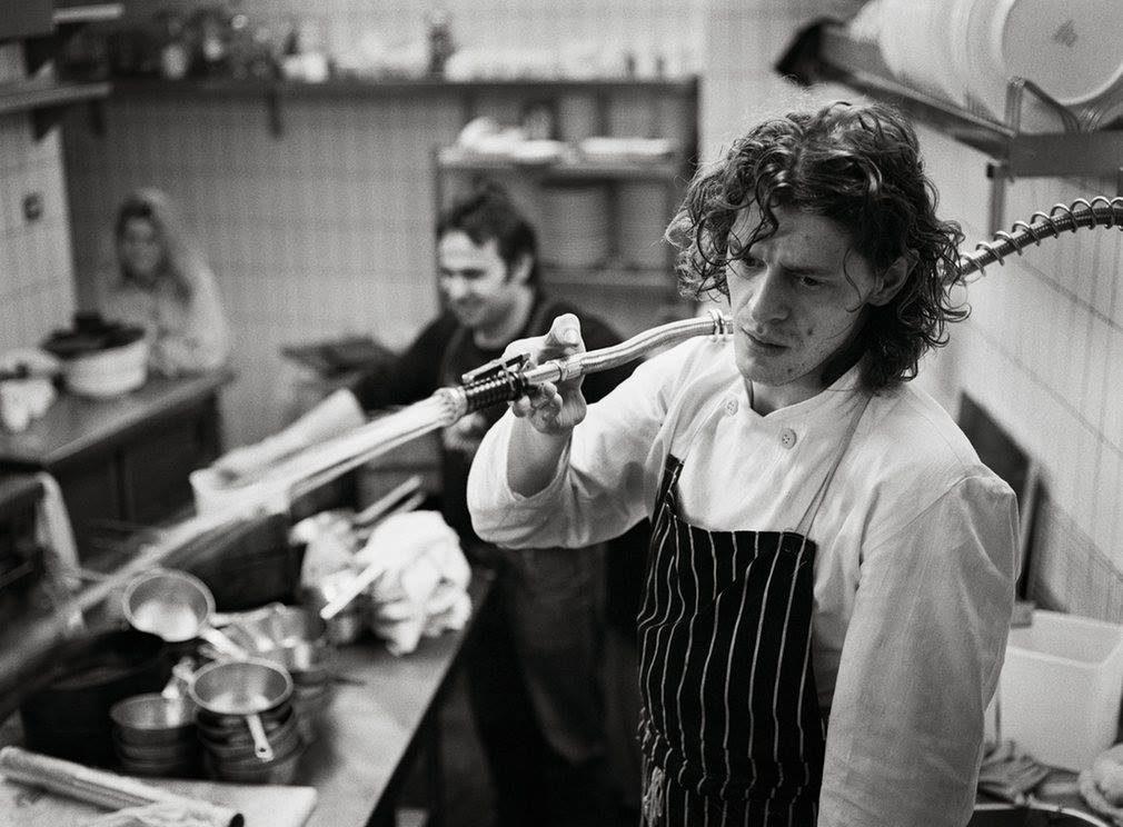 Chef Marco Pierre White da giovane