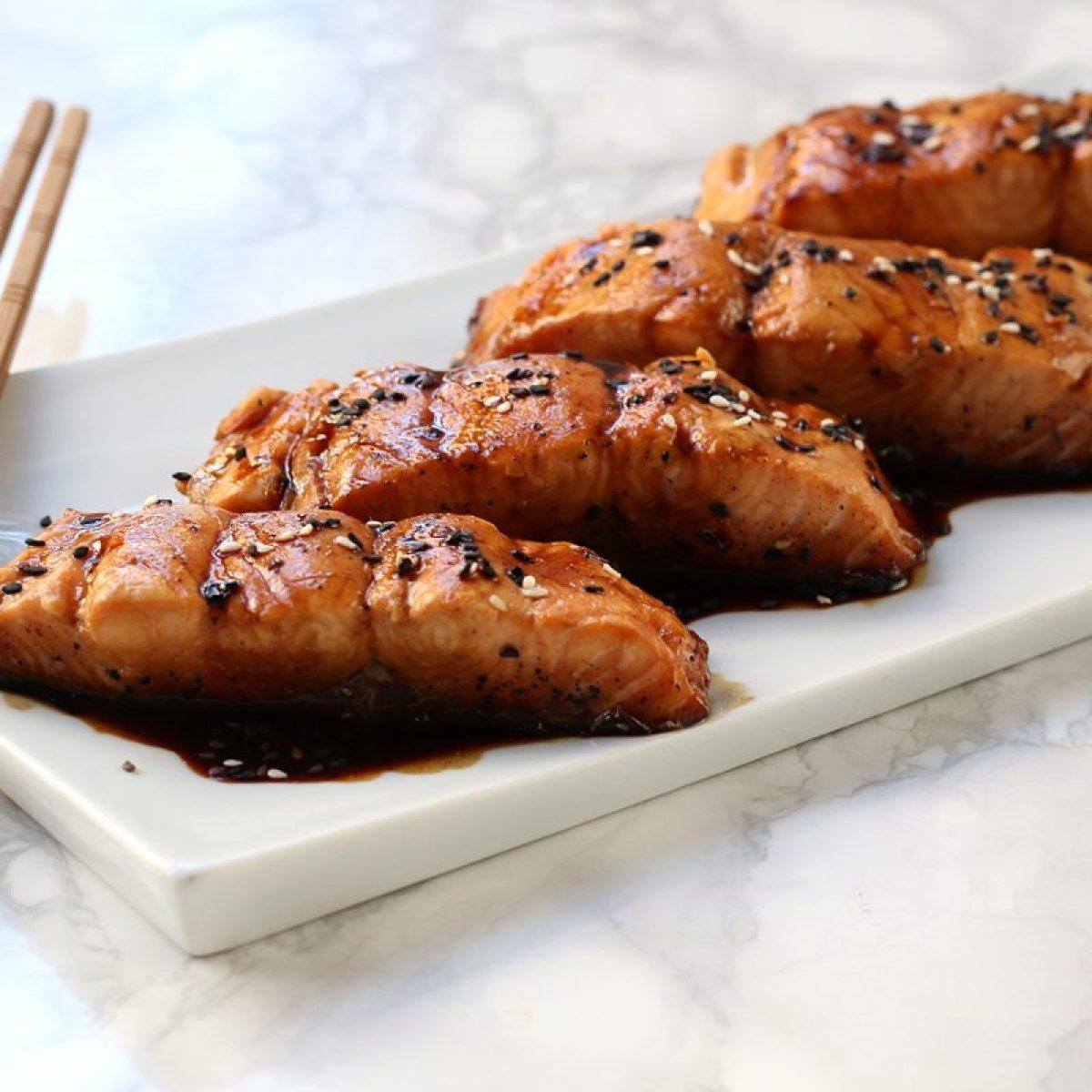 Ricetta Salmone Orientale.Salmone In Salsa Teriyaki La Ricetta Giapponese Gustosa E Veloce