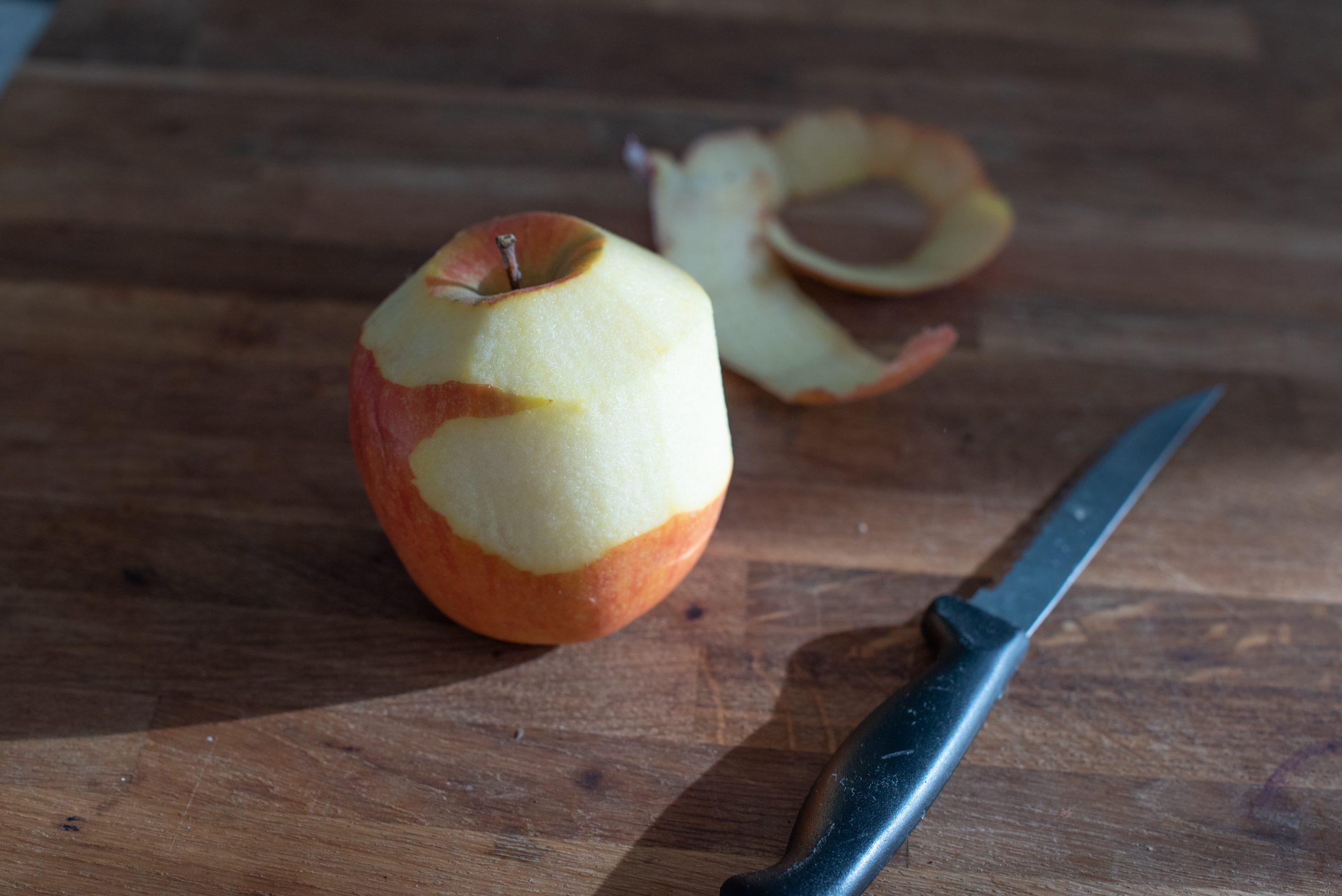 Frollini ripieni con mela e cannella