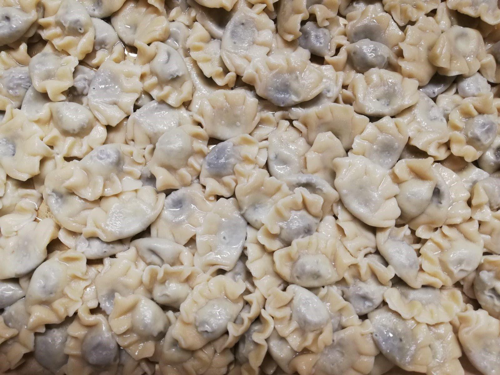Pasta ripiena senza carne di maiale: Tortello di Crema