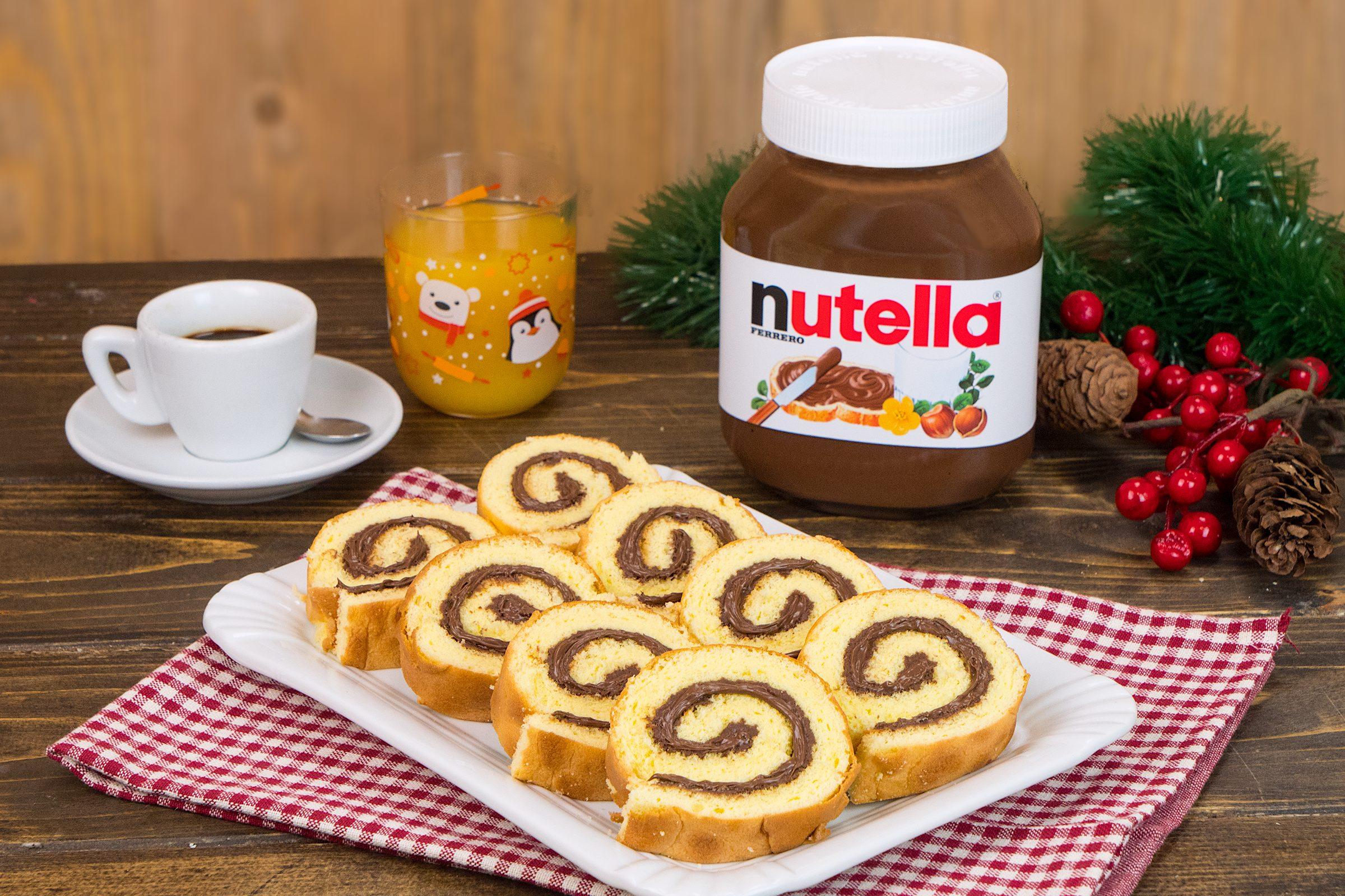 Rolls con  Nutella®: soffici, cremosi e  perfetti per le feste di Natale!