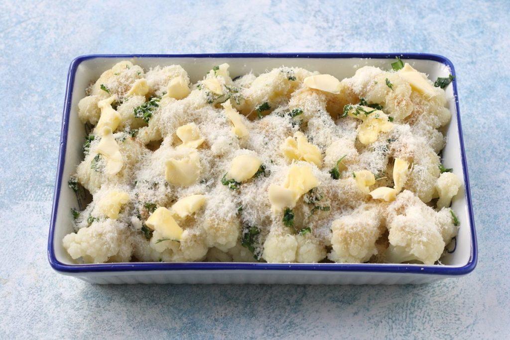Ricetta cavolfiore gratinato al parmigiano