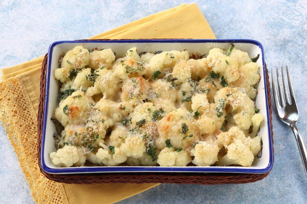 Ricetta cavolfiore al parmigiano