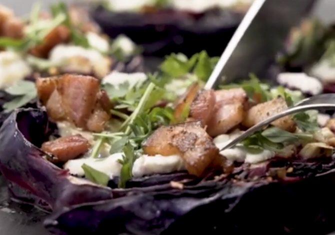 Cavolo rosso al forno: la ricetta del contorno veloce e sfizioso