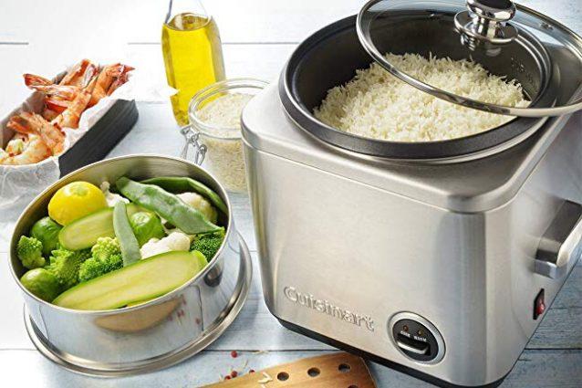 Come usare la vaporiera per cuocere il riso