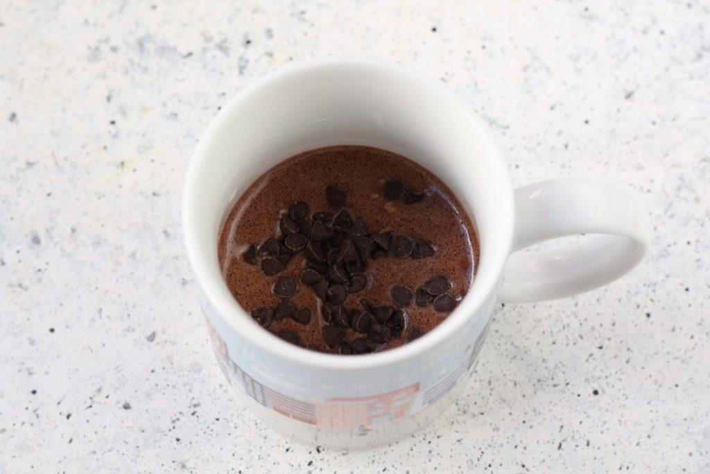 Ricetta mug cake al cioccolato