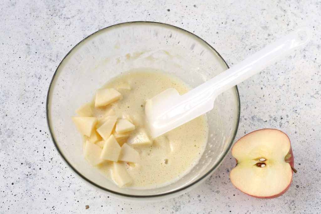 Torta in tazza alle mele