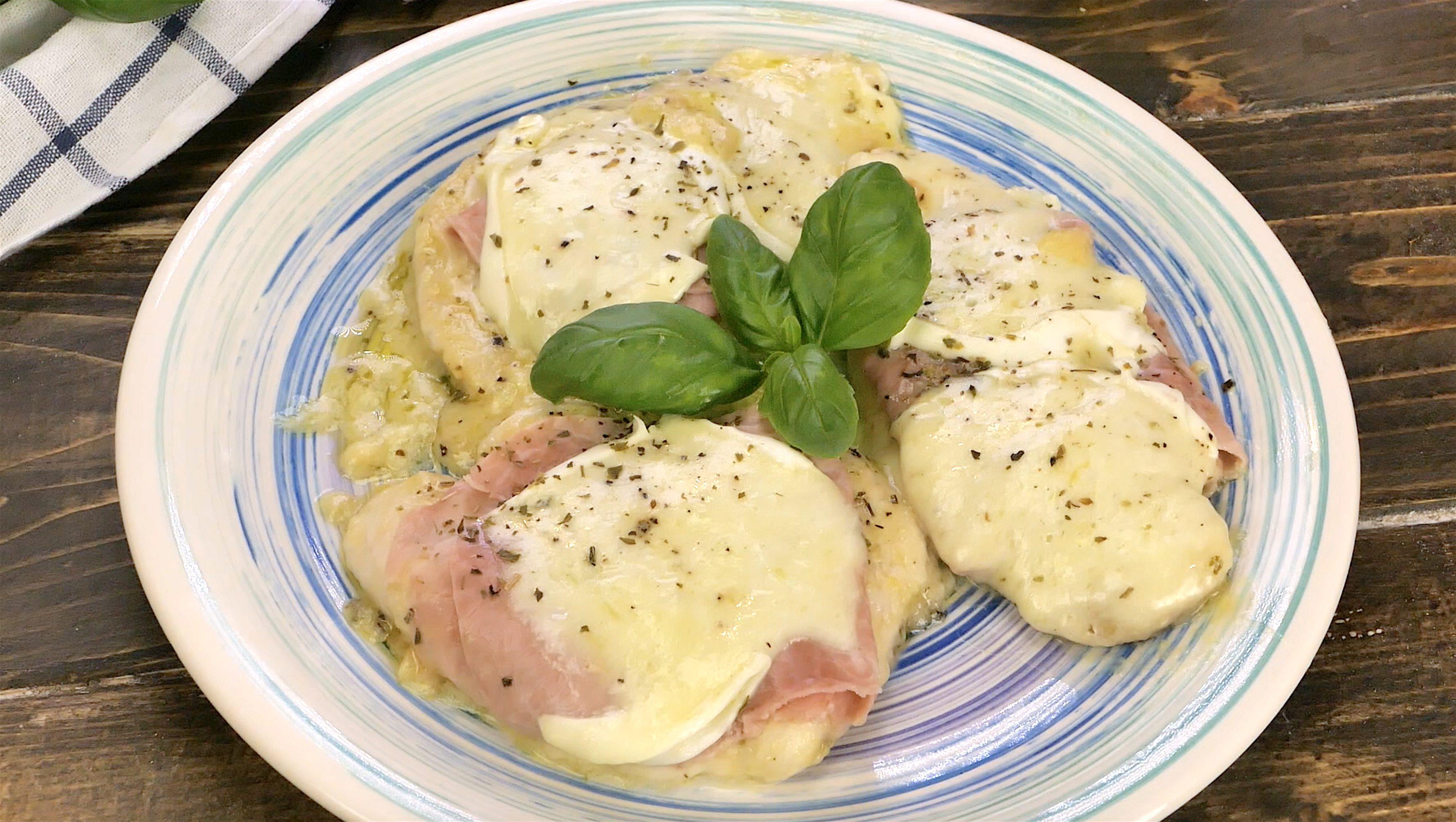 Pollo alla valdostana: la ricetta del secondo piatto filante e appetitoso