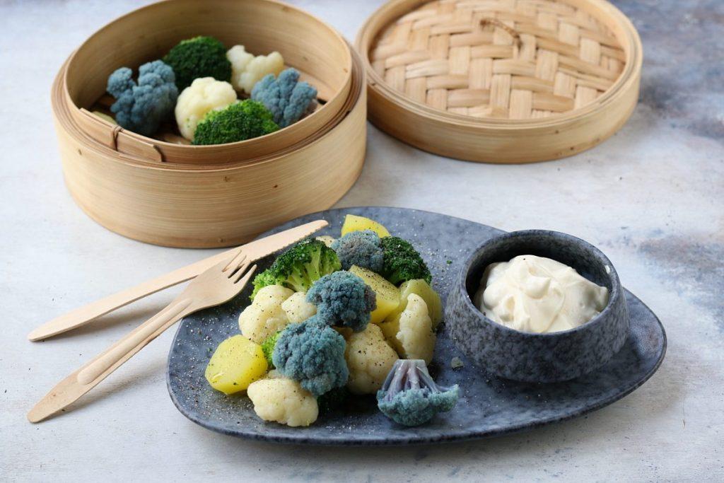 Ricetta cavolfiori e patate a vapore