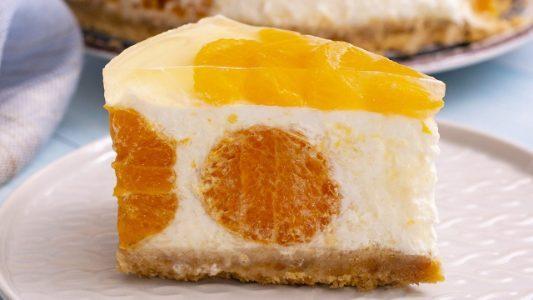 Cheesecake al mandarino: la ricetta del dessert fresco e profumato da fare senza cottura