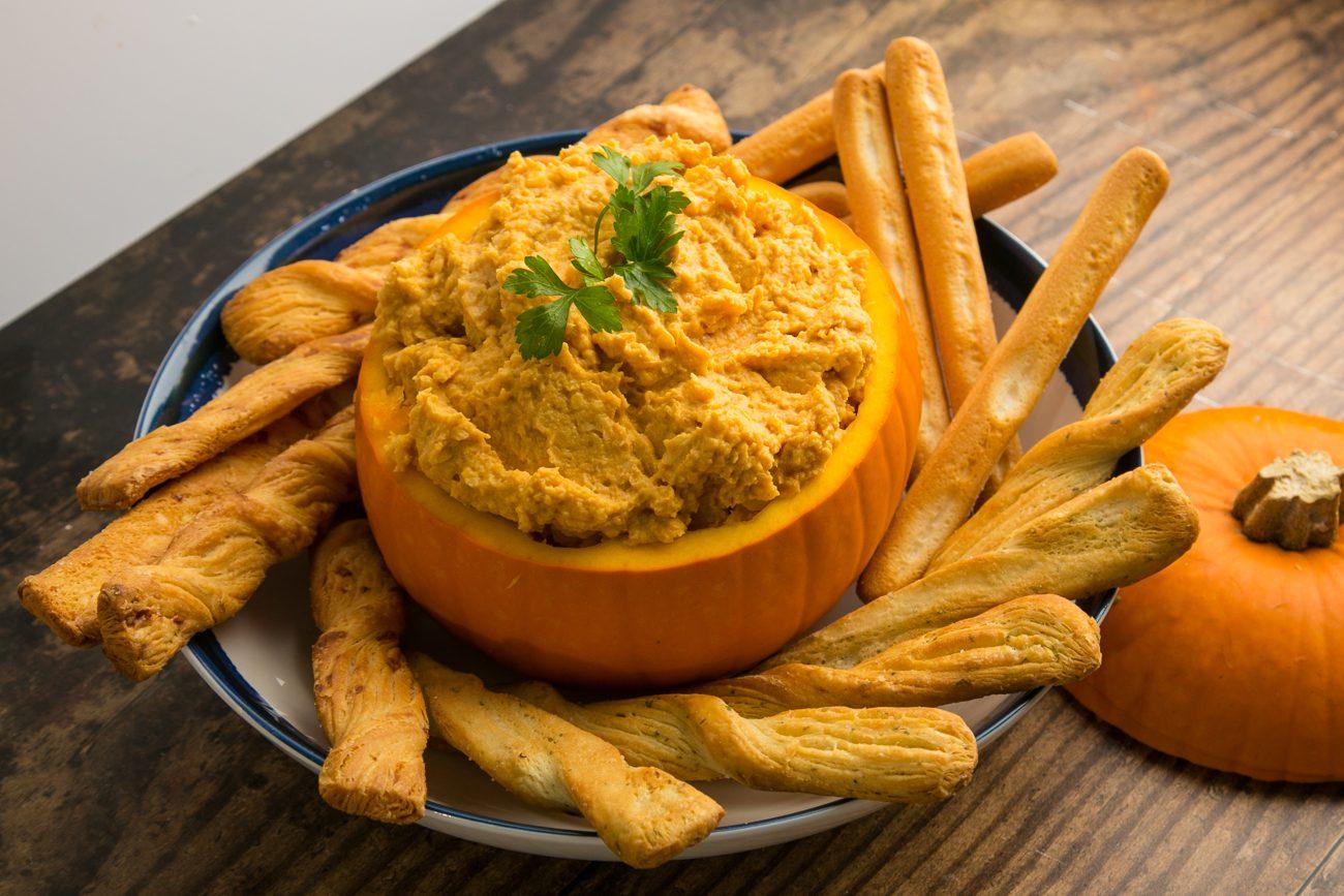 Hummus di zucca:  la variante della ricetta mediorientale delicata e invitante