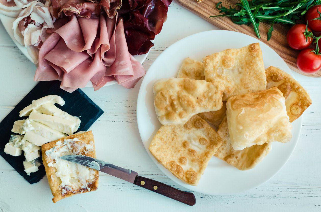 Piatti tipici bolognesi: le crescentine