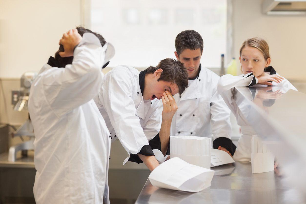 Chef e gestione dello stress: in arrivo lo psicologo per i cuochi