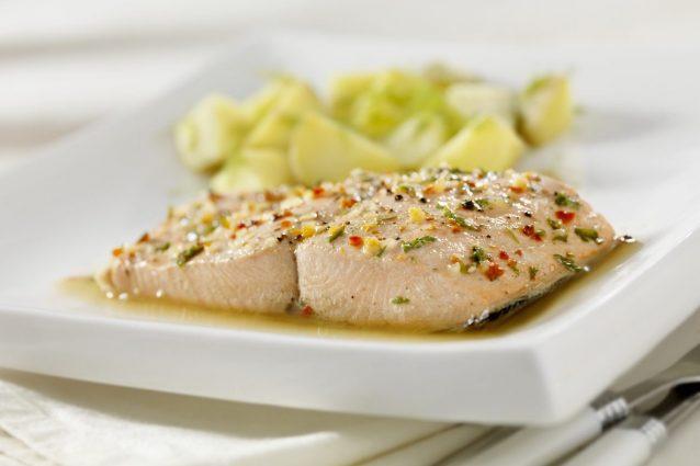 Ricette Salmone Dietetico.Salmone Al Vapore La Ricetta Del Secondo Piatto Light