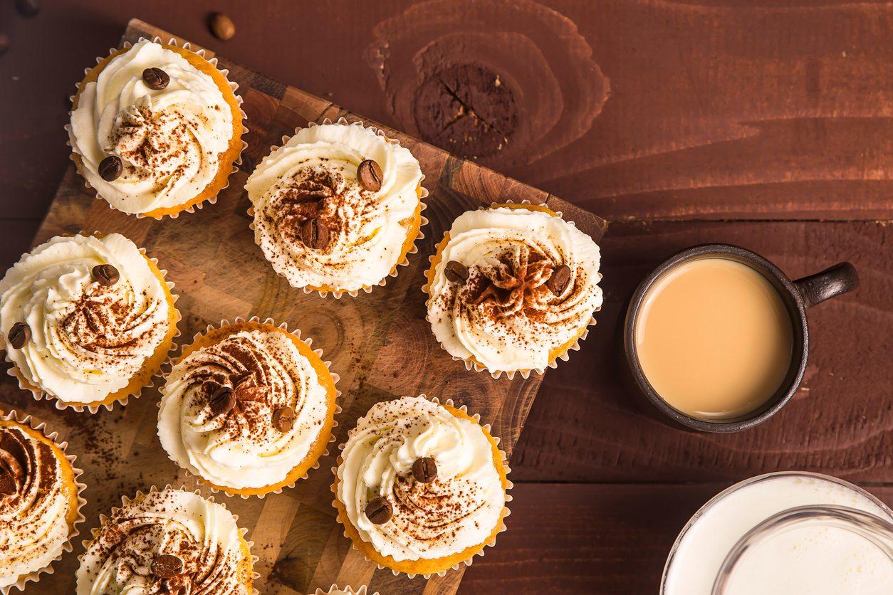 Cupcake al caffè: la ricetta dei tortini americani ideali per un dolce risveglio